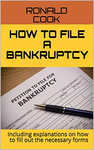 how to file a bankruptcy book